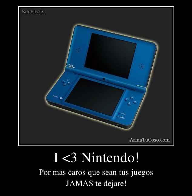 I <3 Nintendo!