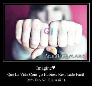 Imagine♥