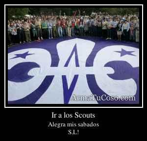 Ir a los Scouts