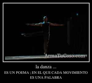 la danza ...