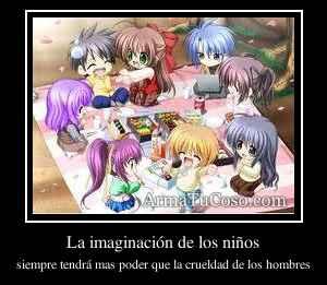 La imaginación de los niños
