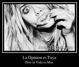 La Opinion es Tuya