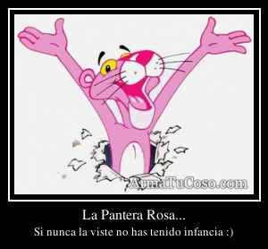 La Pantera Rosa...