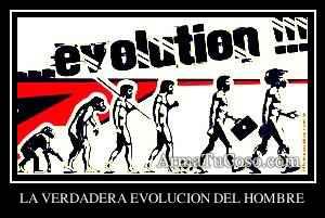 LA VERDADERA EVOLUCION DEL HOMBRE