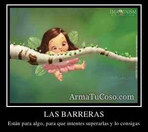 LAS BARRERAS