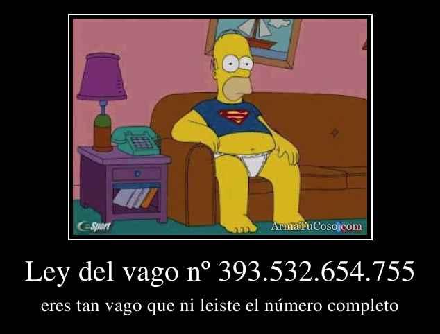 Ley del vago nº 393.532.654.755