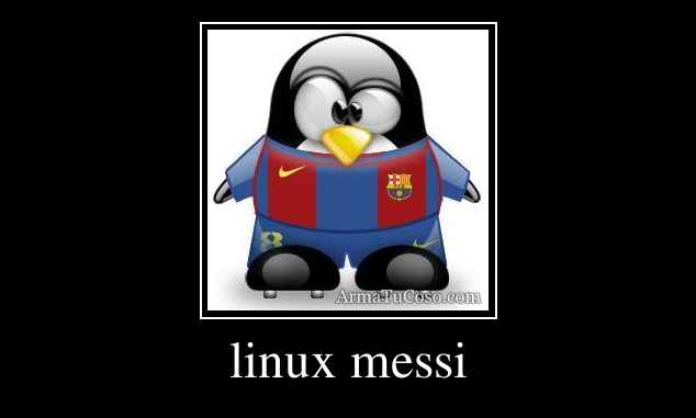 linux messi