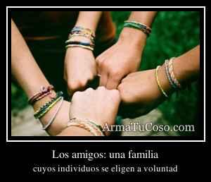 Los amigos: una familia
