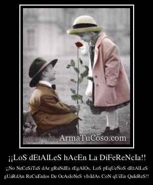 ¡¡LoS dEtAlLeS hAcEn La DiFeReNcIa!!