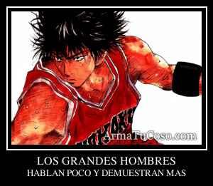 LOS GRANDES HOMBRES