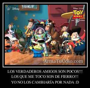 LOS VERDADEROS AMIGOS SON POCOS!!!