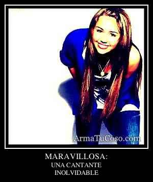 MARAVILLOSA: