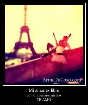 Mi amor es libre