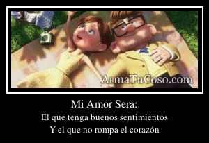 Mi Amor Sera: