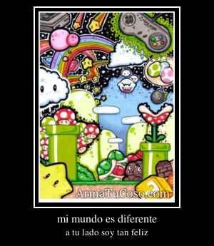 mi mundo es diferente