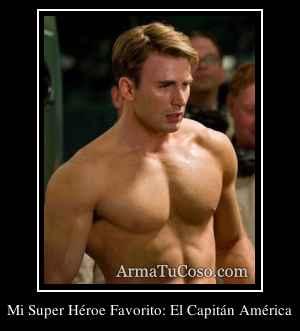 Mi Super Héroe Favorito: El Capitán América