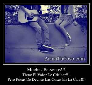 Muchas Personas!!!