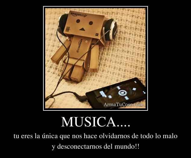 MUSICA....