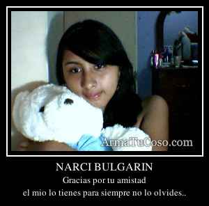 NARCI BULGARIN