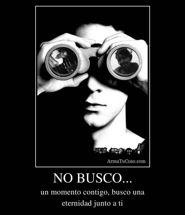 NO BUSCO...