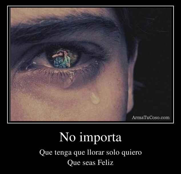 No importa