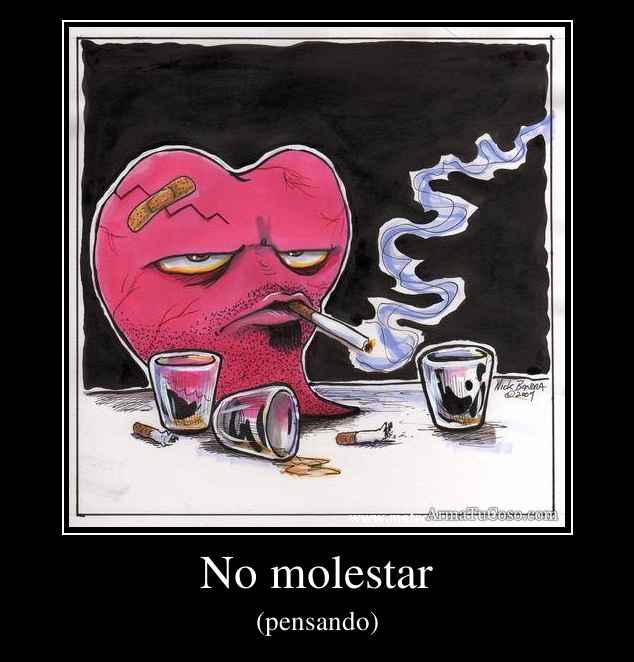 No molestar
