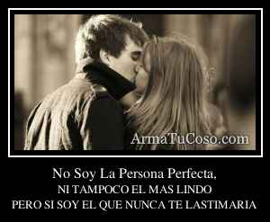 No Soy La Persona Perfecta,