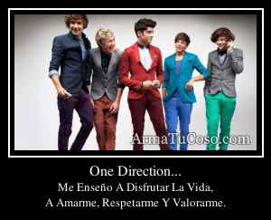 One Direction...