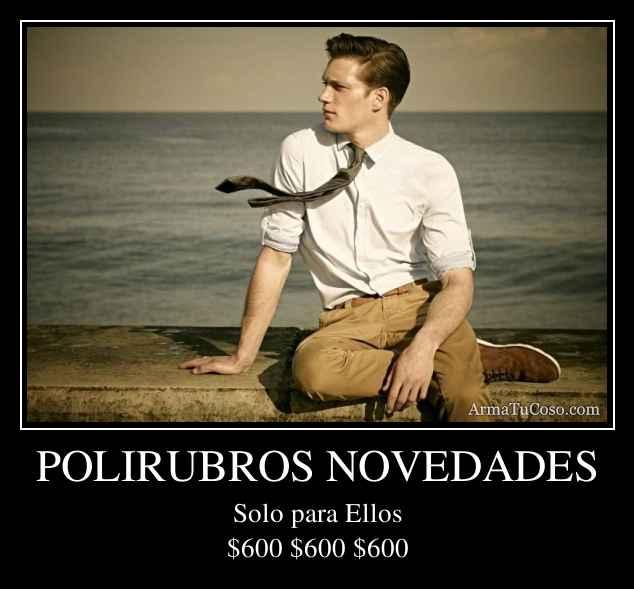 POLIRUBROS NOVEDADES