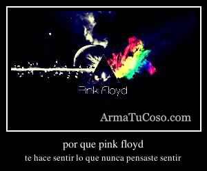 por que pink floyd