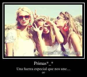 Primas*_*