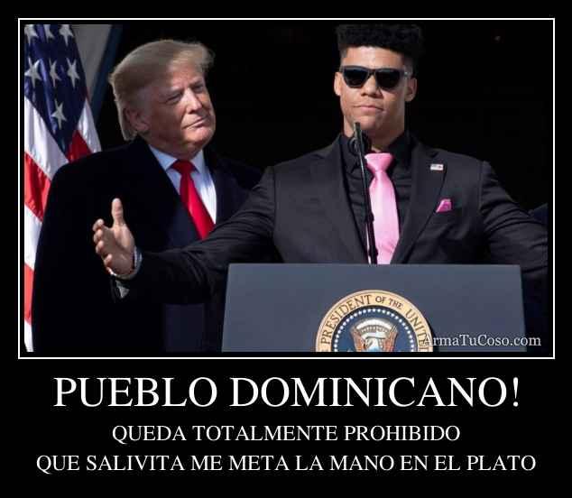PUEBLO DOMINICANO!