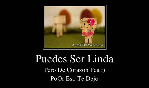 Puedes Ser Linda