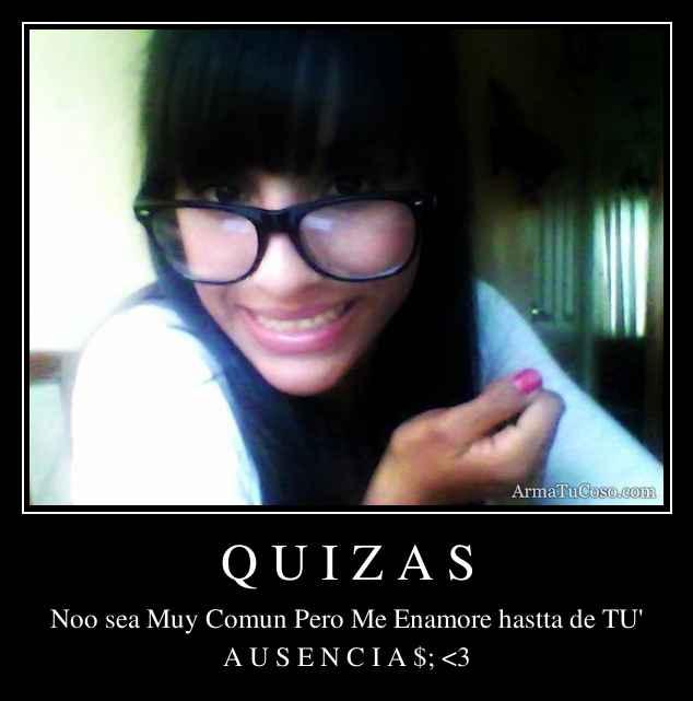 Q U I Z A S
