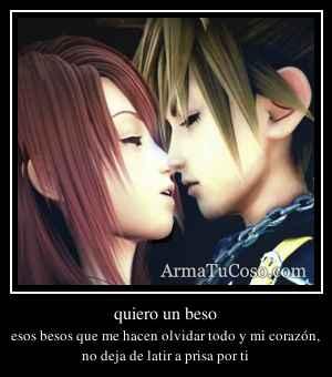 quiero un beso