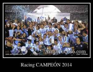 Racing CAMPEÓN 2014