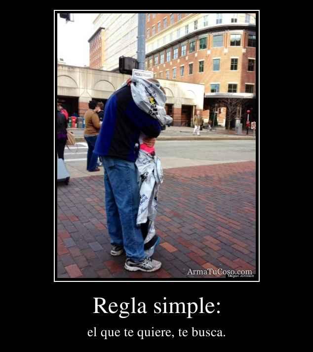 Regla simple: