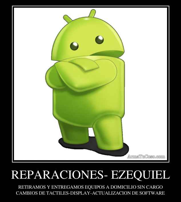 REPARACIONES- EZEQUIEL
