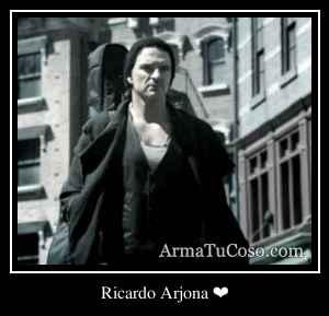 Ricardo Arjona ❤