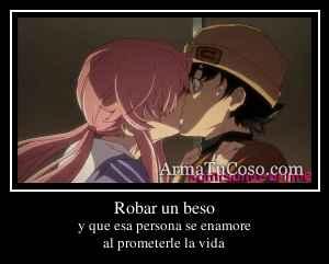 Robar un beso