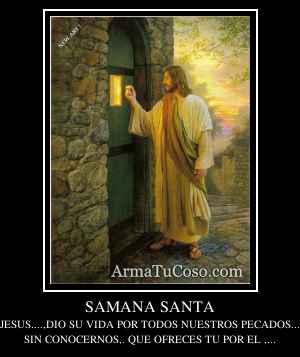 SAMANA SANTA