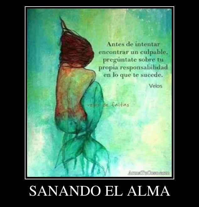 SANANDO EL ALMA