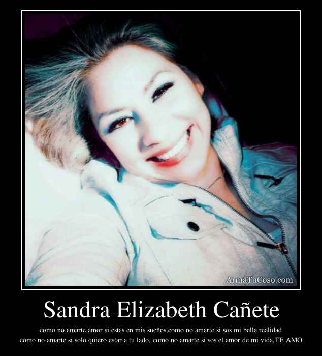 Sandra Elizabeth Cañete
