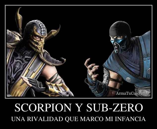 SCORPION Y SUB-ZERO