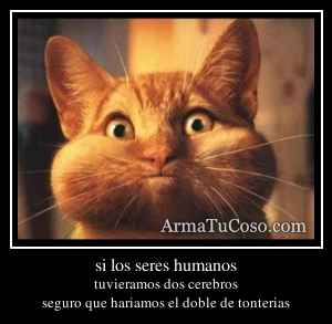 si los seres humanos