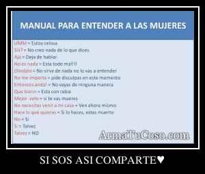 SI SOS ASI COMPARTE♥