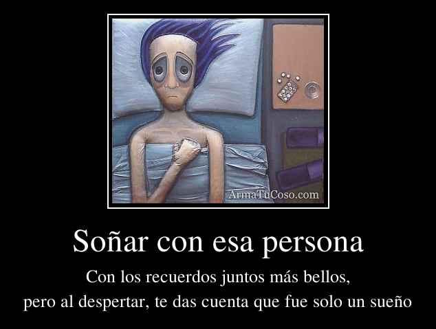 Soñar con esa persona