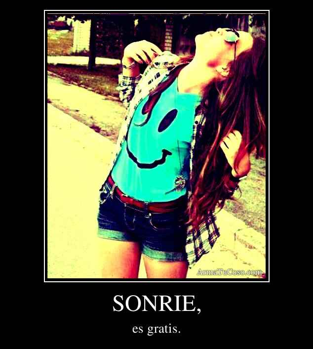 SONRIE,