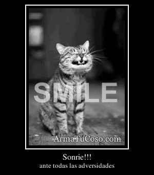 Sonrie!!!