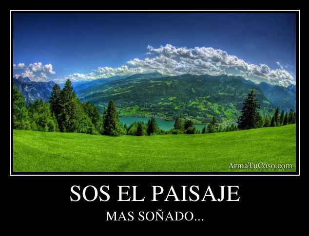 SOS EL PAISAJE